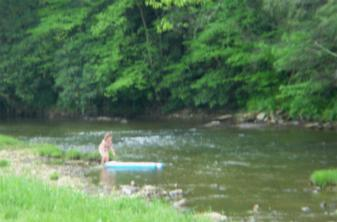 Along the Greenbrier River